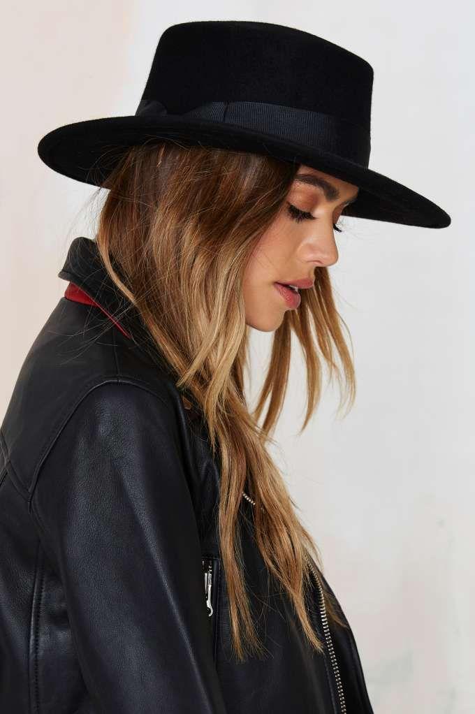 Lack of Color The Muse Boater Wool Hat Chapeaux À Large Bord, Bonnet,  Fashion 21f53dba730