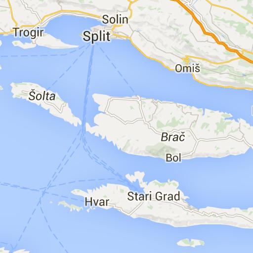 Trogir Split Solin Solta Brac Hvar Trip Planning Brac Stari Grad