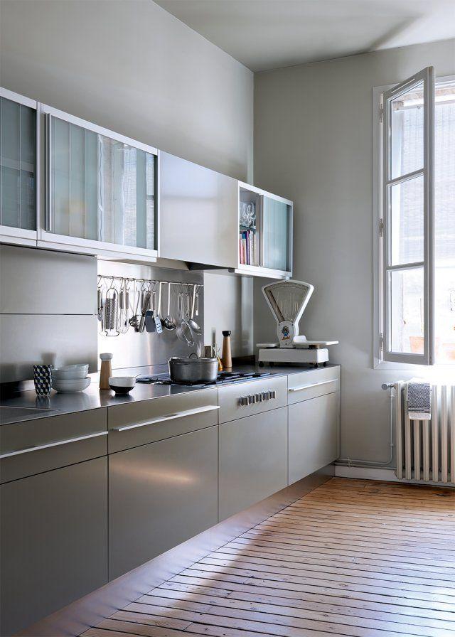 Un intérieur moderne dans d\'anciens bureaux | Kitchens, Kitchen ...