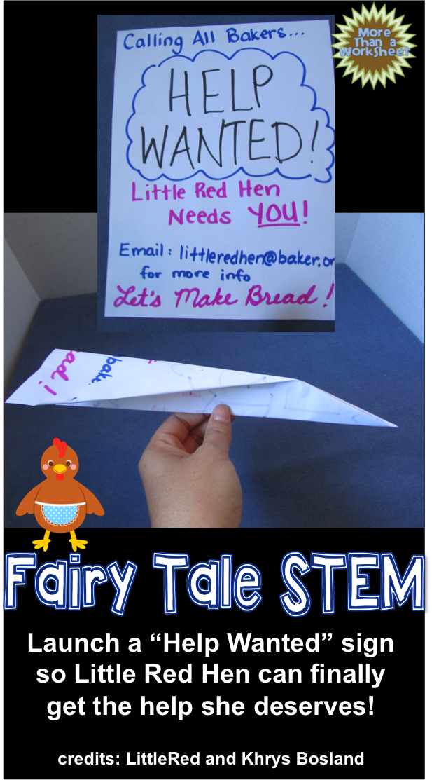 fairy tale stem little red hen paper airplane challenge class projects challenges and help. Black Bedroom Furniture Sets. Home Design Ideas