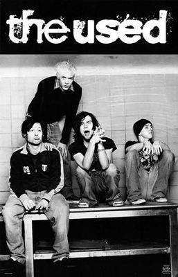 The Used Bert Mccracken Band Posters Band