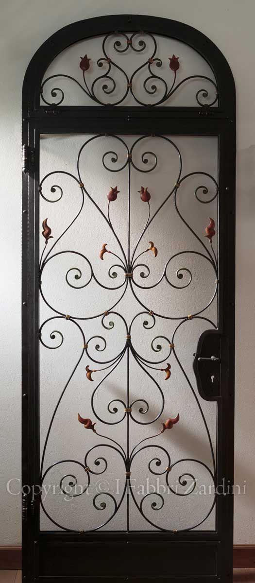 Super porta ferro battuto e vetro - Cerca con Google | Idee per la casa  NK57