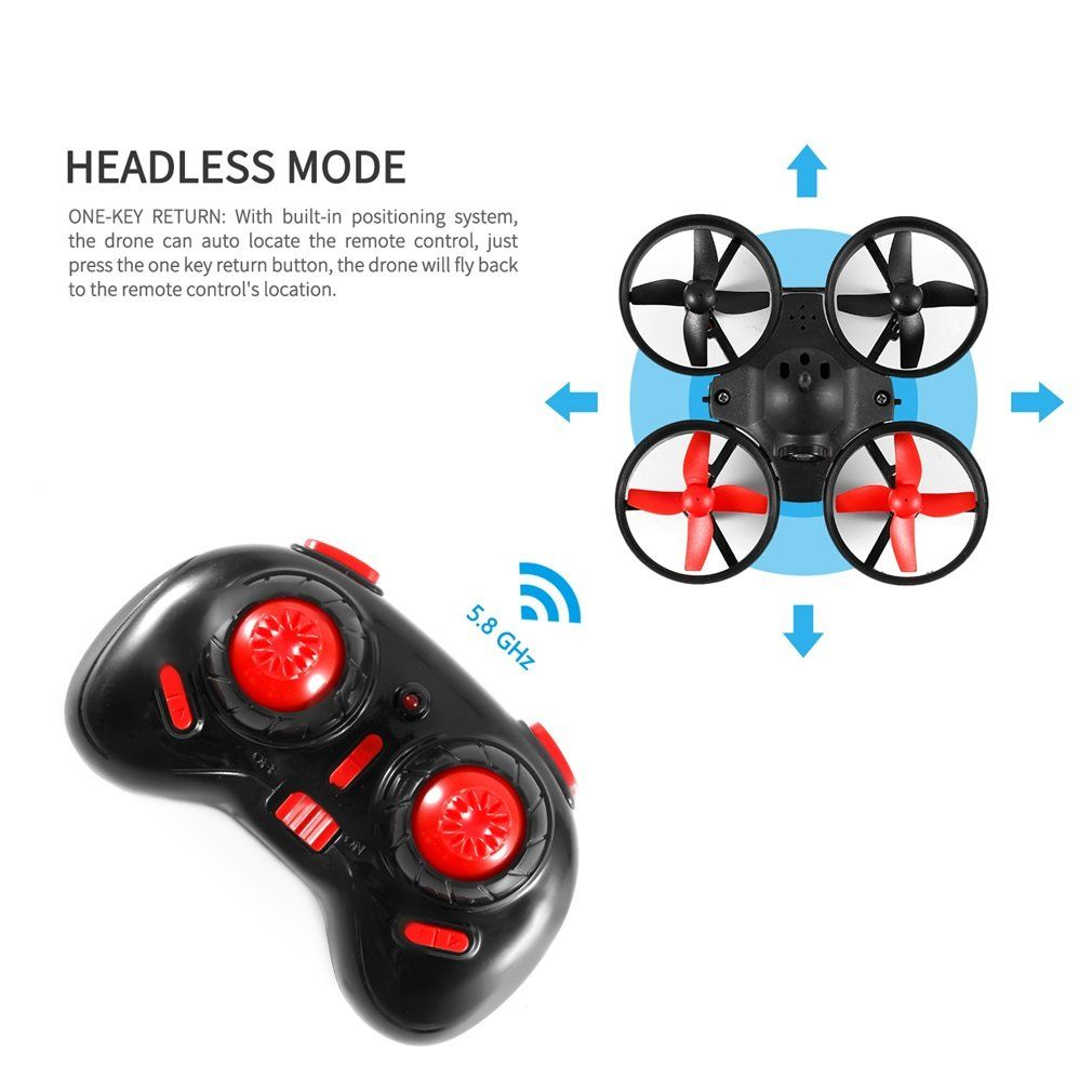 Quadcopter Drone OCDAY Mini RC Helicopter Drone 5 8G 25mW