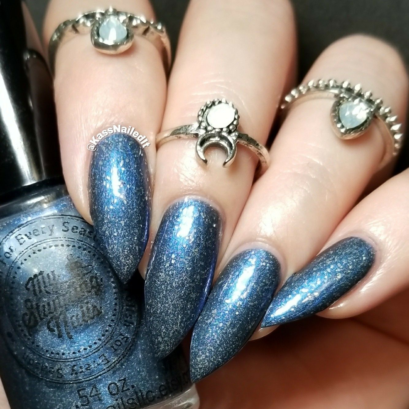 Swatch of A Play on Lapis January 2018 polish pickup by My Stunning ...