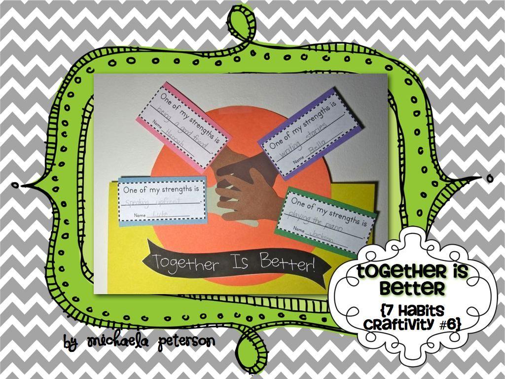 We Re Better Together Leadership Craftivity 6