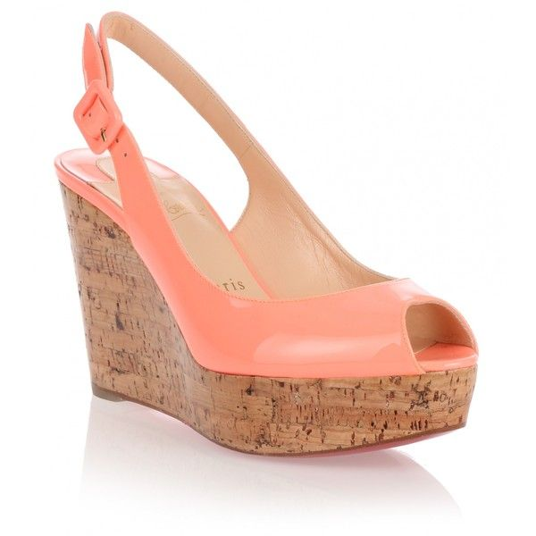 d8643ffeca7 amazon louboutin sandals peep toe wedge 609d0 06b0b