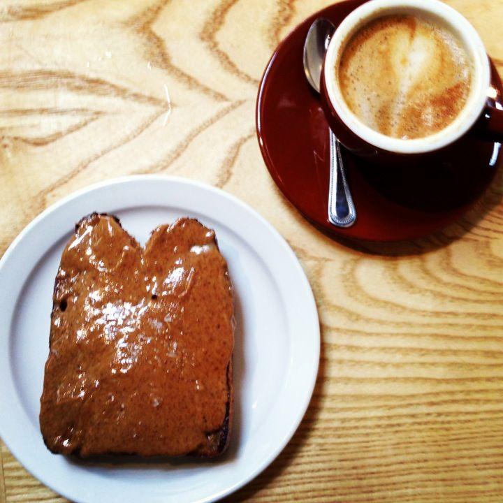 San Francisco Coffee, Alamo Square, Milling