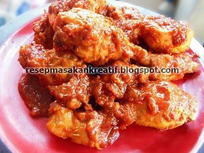 Resep Ayam Bumbu Bali Tanpa Santan Resep Ayam Resep Masakan Indonesia Resep Masakan