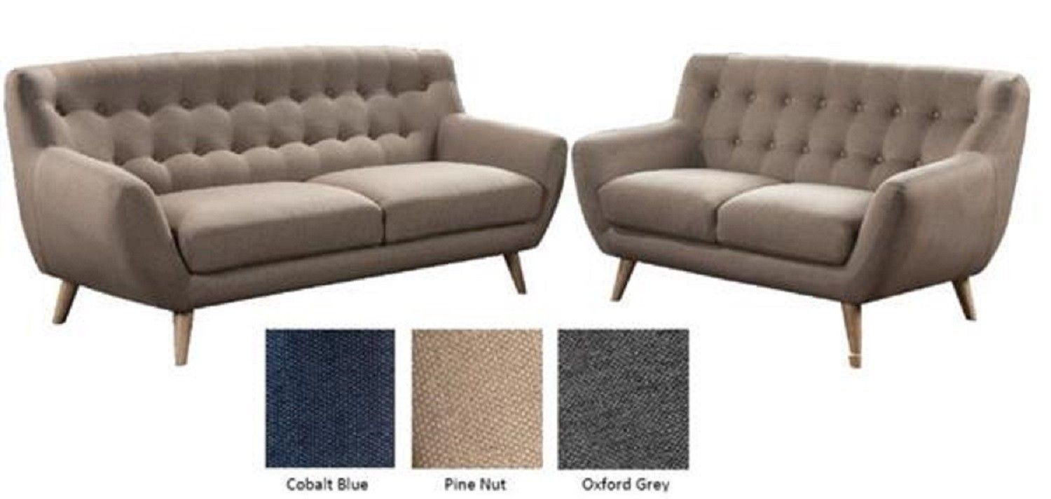 Klassische Sofas You Can Assemble Rihanna 3 Seater And 2 Seater Fabric Sofas Lounges Sofas Sofa