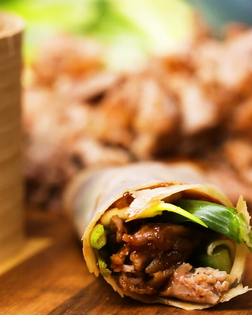 Best Chinese Duck Recipes: Homemade Chinese-Take-Away: Crispy Duck And Pancake