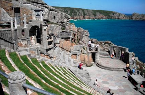 Minack Theatre Cornwall, England 12 places, Beaches in