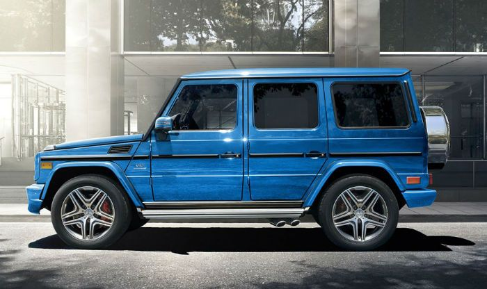 2017 Mercedes Benz G Cl Blue Color