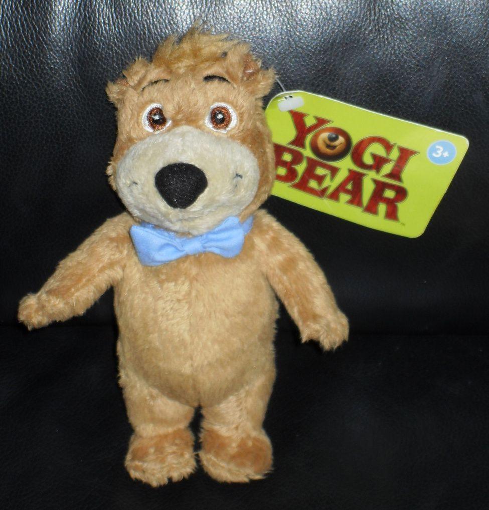 Hana Barbera Yogi Bear Boo Boo Stuffed Toy New With Tags Teddy