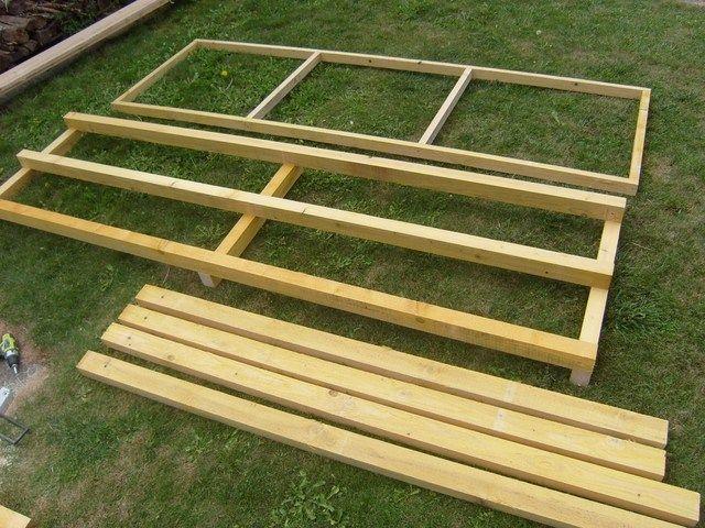 Blog de magicmanu  Aménagement de notre maison, Fabriquer un abri - Montage D Un Garage En Bois
