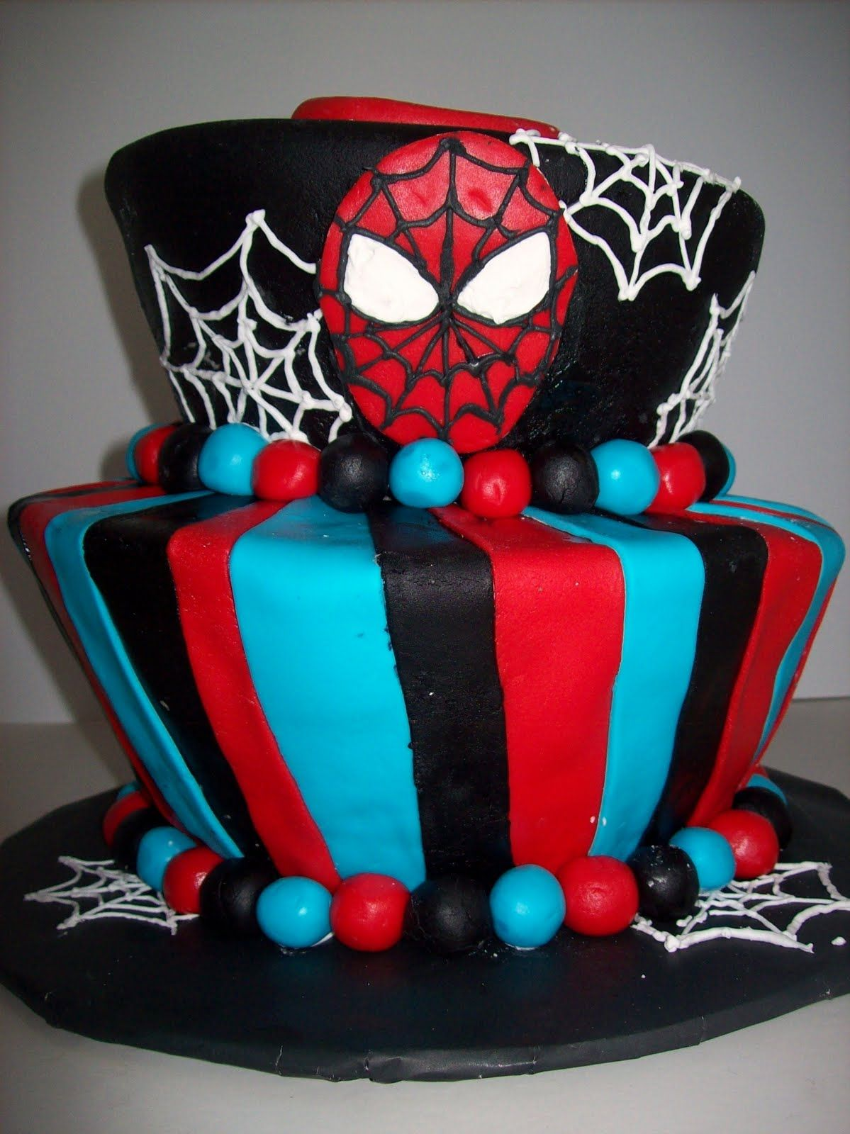Click To See This Cool Ideas Beautiful Spiderman Birthday Cake