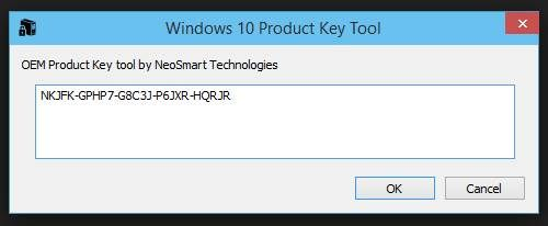 get my windows 10 product key