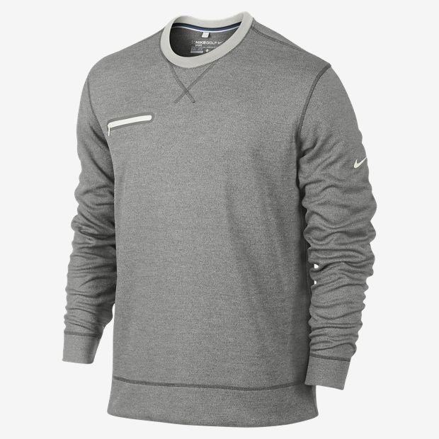 9f674c7a041db8 Nike Sport Long-Sleeve Crew Men s Golf Sweater