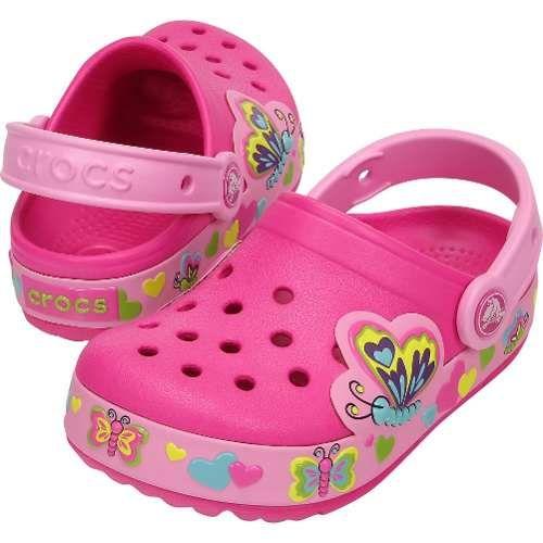 Zapatos rosas Cars Crocs infantiles s9WSsXWG
