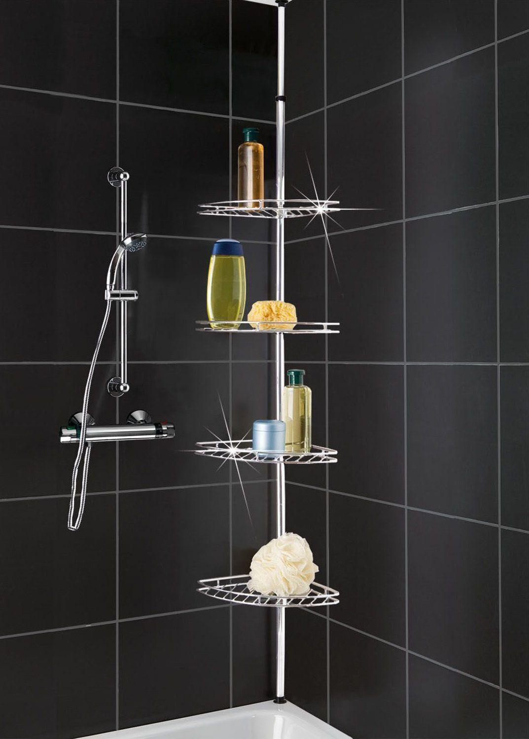 Bathroom Corner Shelf Completes Your Small Bathroom - https ...