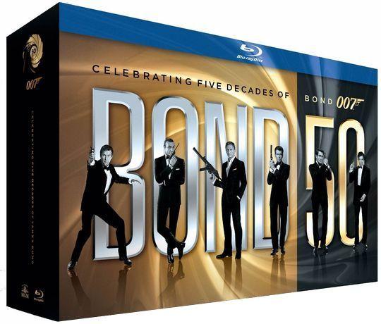 James Bond 007 Collection on Blu-ray. #gotitforhim