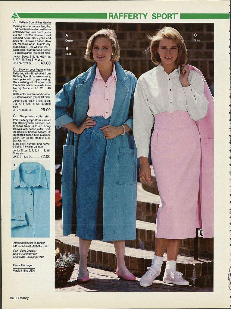 1987-xx-xx JCPenney Christmas Catalog P102   Women's Fashion