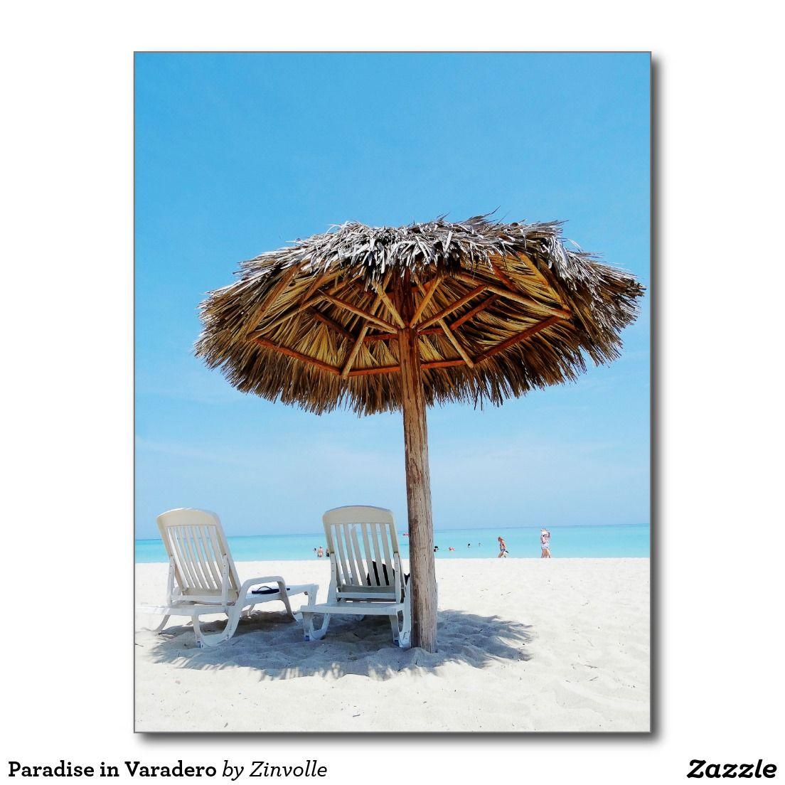 Paradise in Varadero Postcard