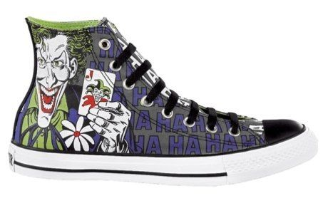 dacb0b2998e new Converse The Joker Batman All Star Hi Chuck Taylor DC Comics Shoes  Trainers