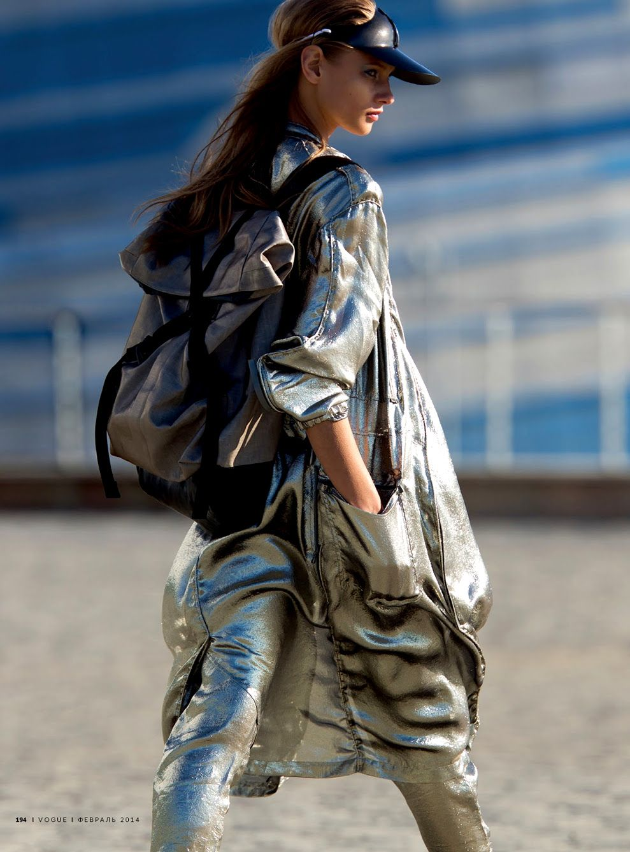 Anna Selezneva for Vogue Russia 2014