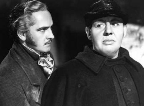 Les Miserables ( 1935 ) - Fredric March and Charles Laughton | Les ...