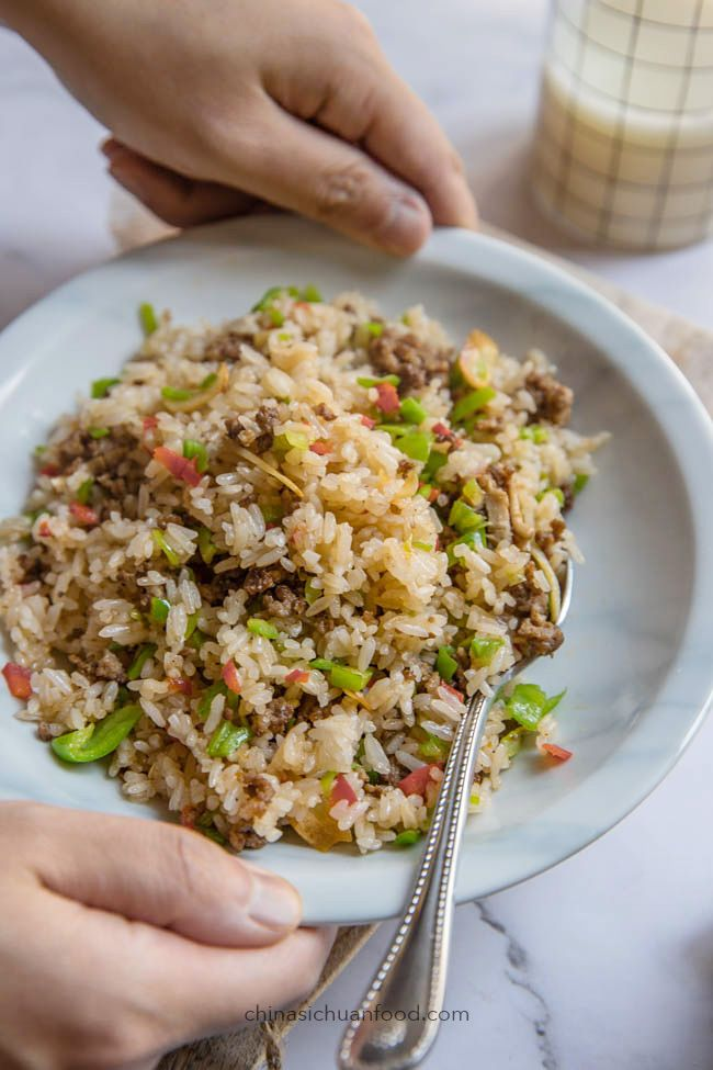 beef fried rice  recipe with images  asian recipes