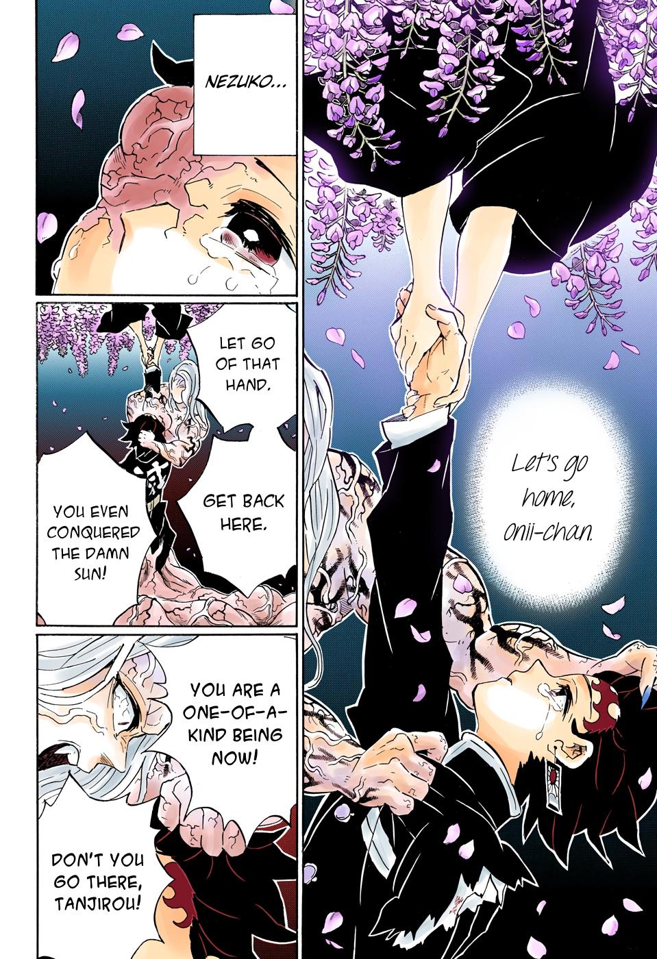 Pin on demon slayer manga chapter 203