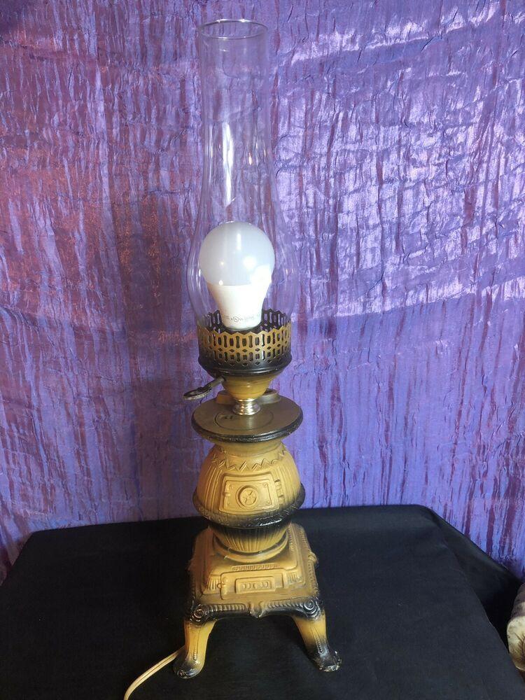Reina Pot Belly Stove Ceramic Table Lamp Ebay Vintage Table Lamp Ceramic Table Lamps Table Lamp