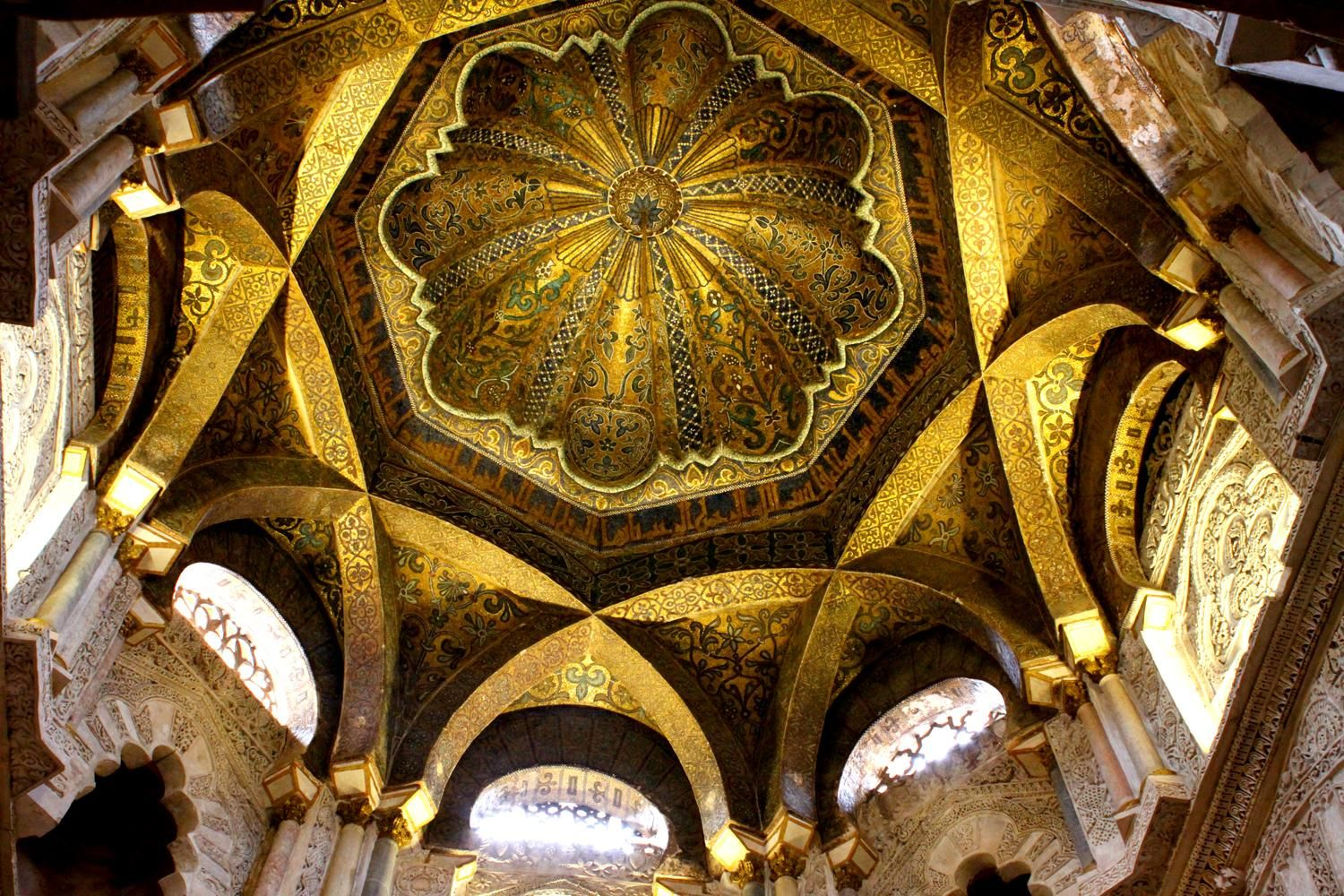building] Curved Space: Interior of Cordoba Mosque-Cathedral Spain | Mosque, Architecture history, Cordoba