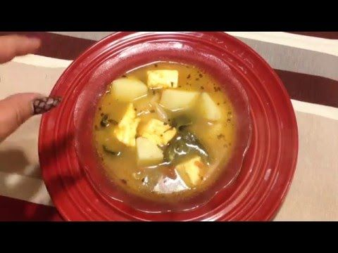 CALDO DE QUESO - YouTube