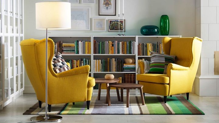 Living in (Ikea) Stockholm moodboard Estilismos, Adornos y Deco - rincon de lectura