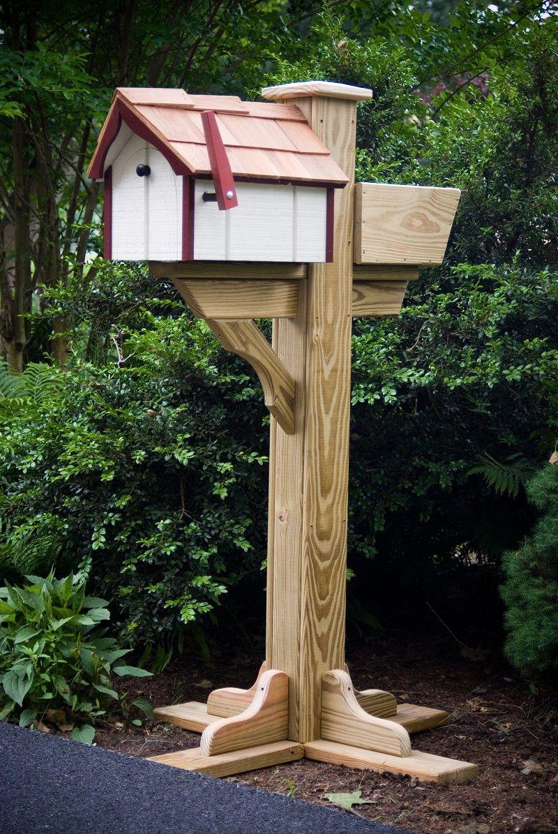 Freestanding Mailbox Post Mailbox Mailbox Design New Home Designs