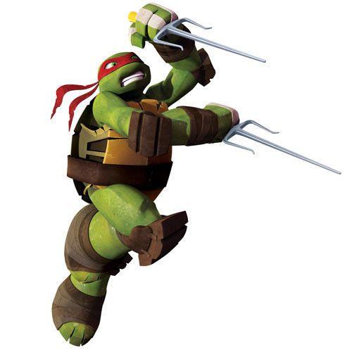 Teenage Mutant Ninja Turtles Raph Giant Wall Decal OFFICIALLY - Ninja turtle wall decals