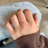 Photo of Mini smile tattoo. In this board you'll find the most inspiring and meaningf… …