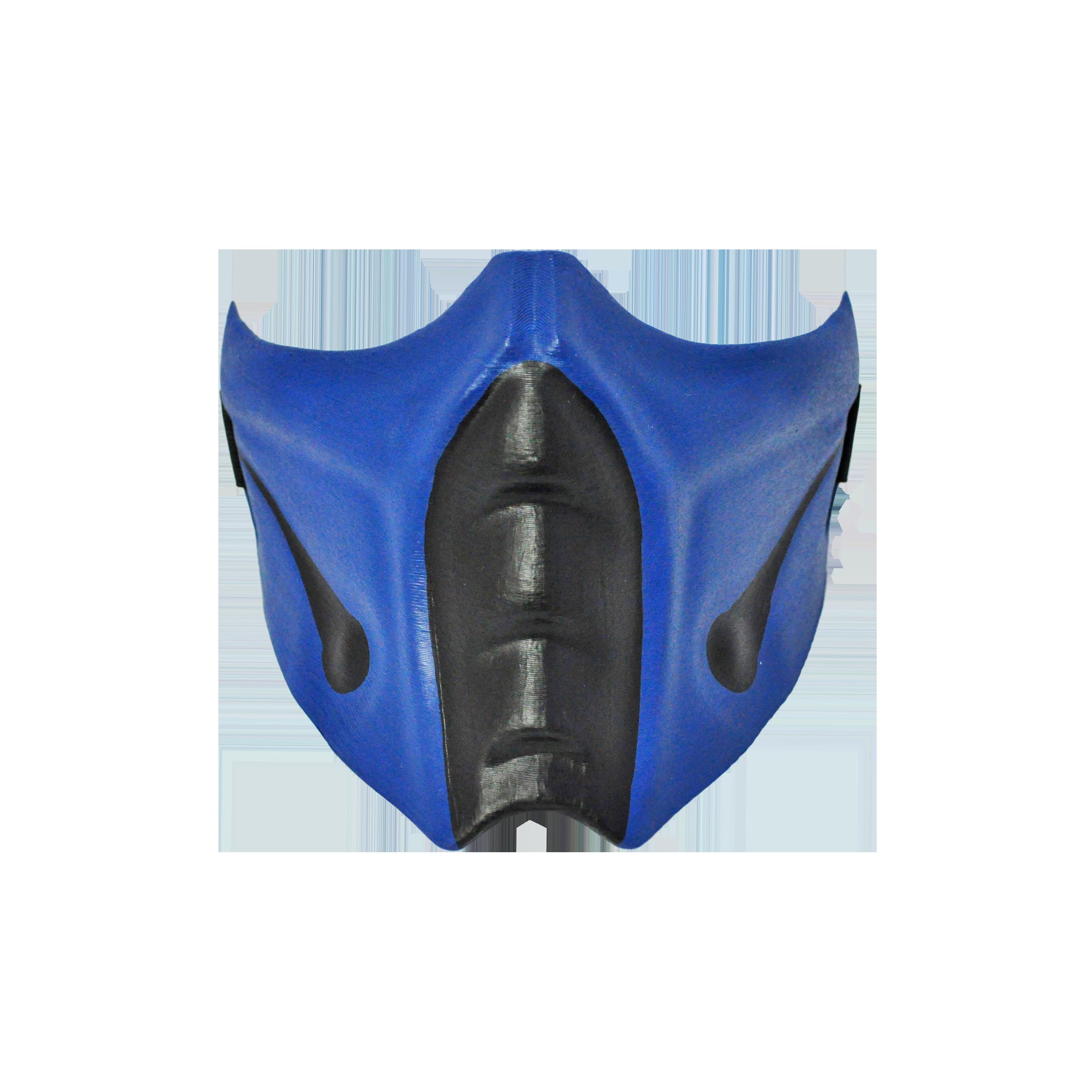 Sub Zero Mask From Mk Cosplay Or Airsoft Mask Mortal Kombat