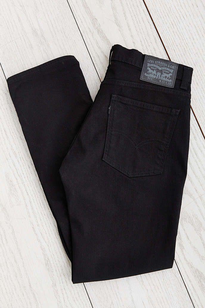 b97f1aa11af Levi's 511 Black Stretch 3D Slim Jean | Stuff to Buy | Levis 511 ...