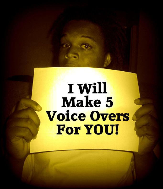 leedellthomas: make Five Really Good Voice Overs For YOU for $5, on fiverr.com