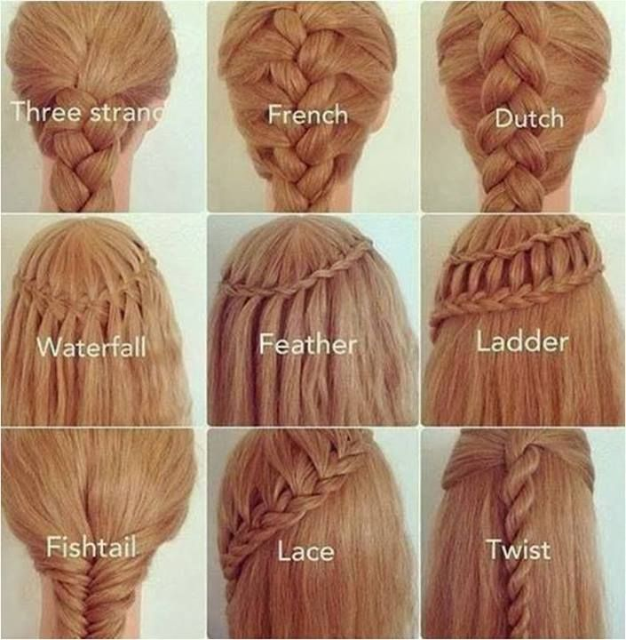 25 Easy Hairstyles With Braids How To Long Hair Styles Hair