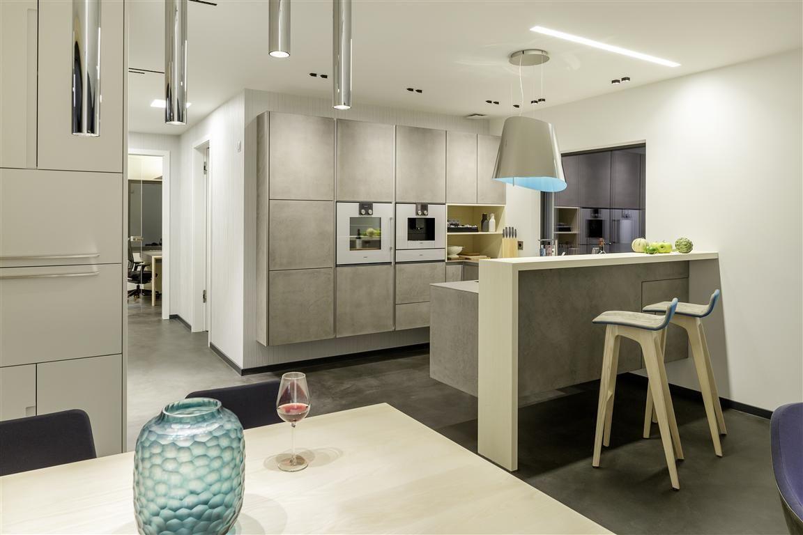 Esszimmer und Zeyko-Küche unseres Musterhauses in der ...