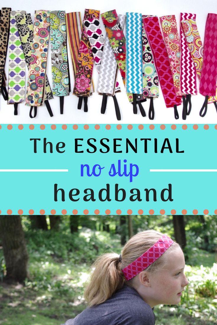 No-Slip DIY Headband Tutorial #ribboncrafts