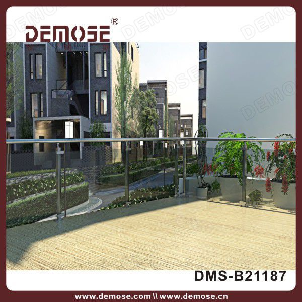 Best Steel Glass Balustrade Cost Glass Railing Glass 400 x 300