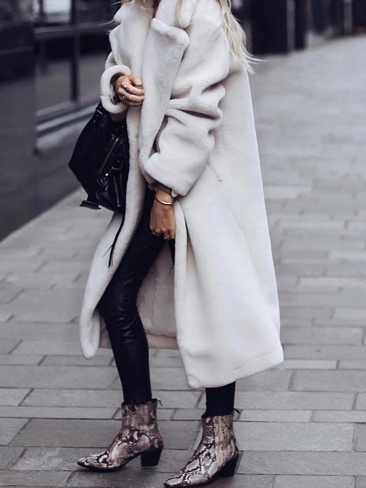 Revers Warme Zweireiher Mantel in 2020 | Outfit, Mode und