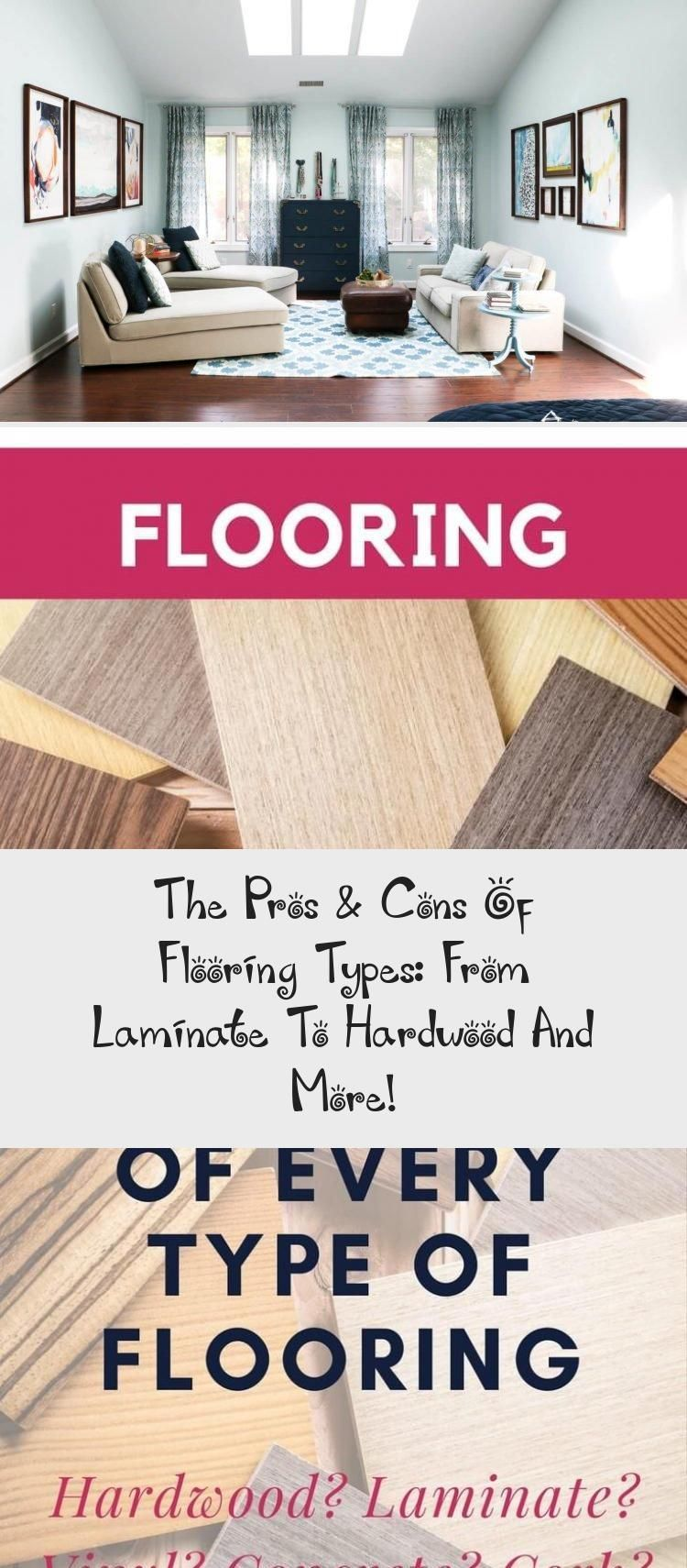 The Pros & Cons Of Flooring Types From Laminate To