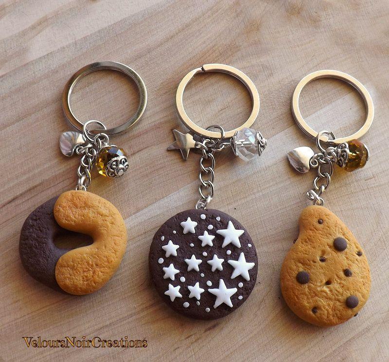 Famoso Portachiavi biscotti mulino bianco abbracci pan di stelle gocciole  LY66