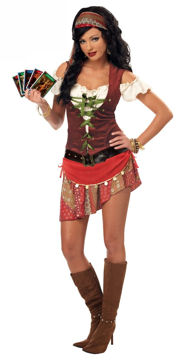 Adult Pirate Costumes  sc 1 st  Pinterest & Mystic Gypsy Costume | Halloween | Pinterest | Costumes Halloween ...