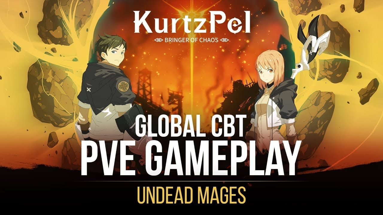 KurtzPel PVE Gameplay Beta - Undead Mages | New Games 2019